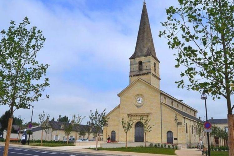 clocher de l'église Saint-Nicolas en france