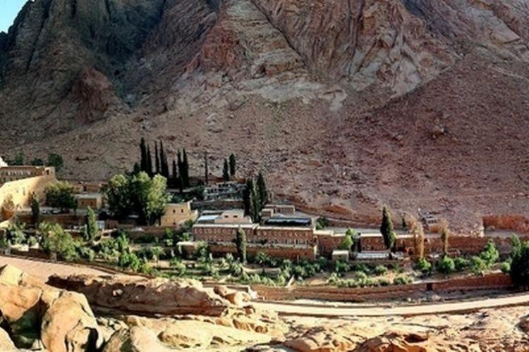 Péninsule du Sinaï en égypte