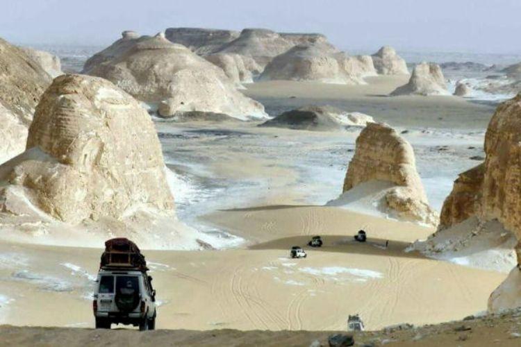 désert blanc, egypte