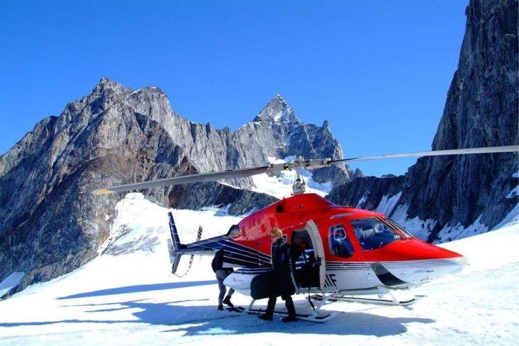 tour en hélicoptère en Groenland