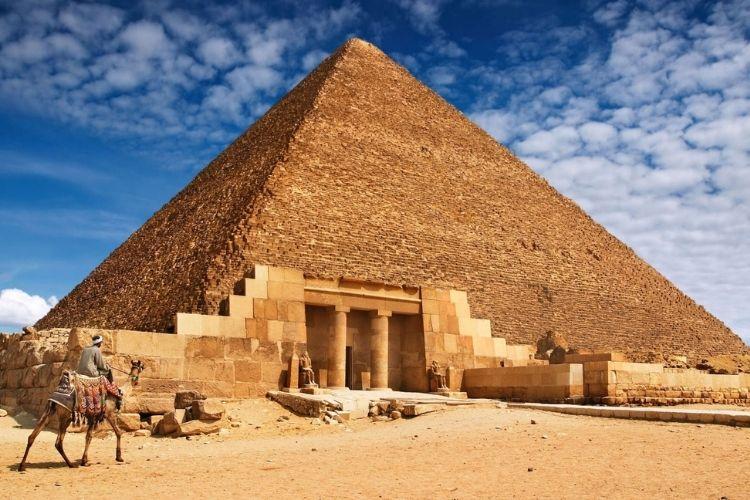 Merveilles du monde : Pyramide de Khéops