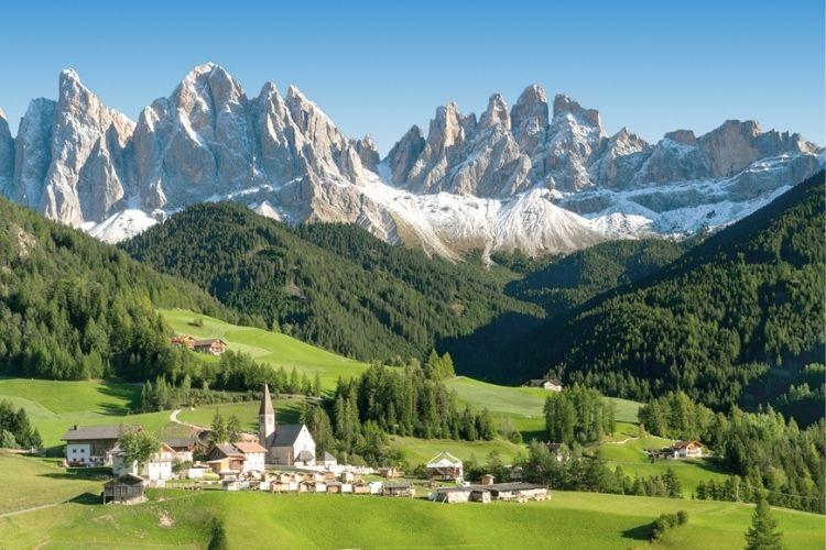 Tyrol du Sud d'Italie