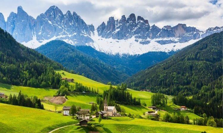 destinations de montagne en Italie